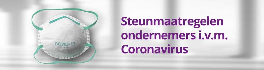 Steunmaatregelen ondernemers Coronavirus